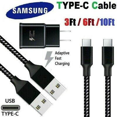 3610Ft Fast Charger Type C USB-C Cable For Samsung Galaxy S20 S10 S9 S8 Note 8