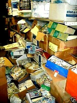 1000000s STAMPS COLLECTION-Lot of 100-ALBUMS-GLASSINES-MINT-SET-Used-UNSEARCHED