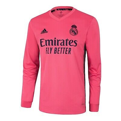 MENS REAL MADRID AWAY JERSEY 20-21 NEW WITH TAGS 100 AUTHENTIC SIZE LARGE