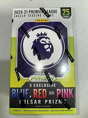 2020-21 Panini Prizm Premier League EPL Soccer Cereal Box Free Shipping