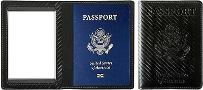 PU Leather Passport and Card Holder