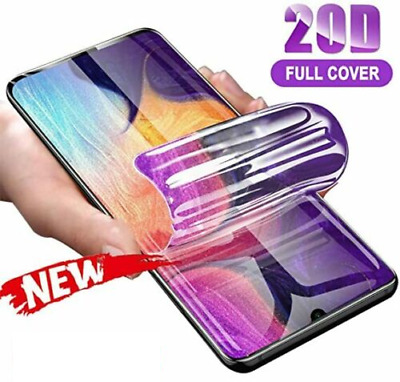 For SAMSUNG Galaxy S20 S10 8 9 Plus S21 NOTE TPU Hydrogel FILM Screen Protector