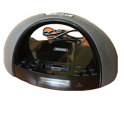 Clock Radio Docking Station for iPod by iMode Model iP220