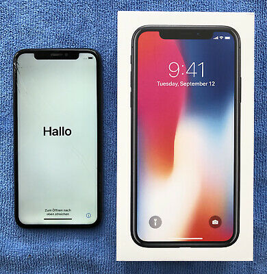 Apple iPhone X – 256 GB (ohne Simlock) – absoluter Topzustand in OVP