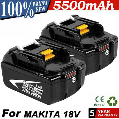 2 PACK 18V 6-0Ah LITHIUM ION BATTERY LXT FOR MAKITA BL1860 BL1830 US LATEST Tool