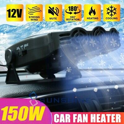 200W Portable Auto Heater Heating Cooling Fan Demister Defroster for Car Truck
