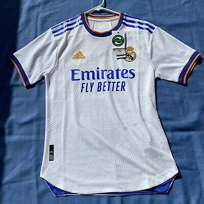 20212022 Real Madrid Home Shirt Adult Soccer Jersey Player Version Football