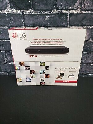 LG Smart Blu-ray Player with Wi-Fi Streaming - BPM35 - New - Sealed  Fast Ship