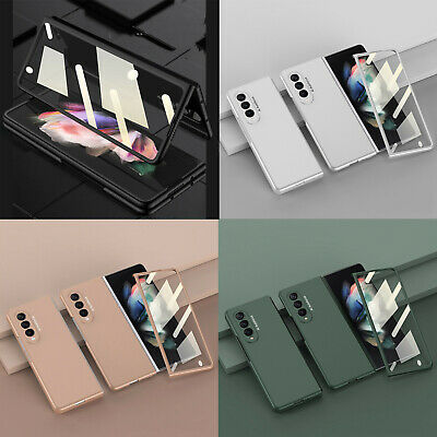 PC Case Cover Screen Film Protector for Samsung Galaxy Z Fold 3 5G Mobile Phone