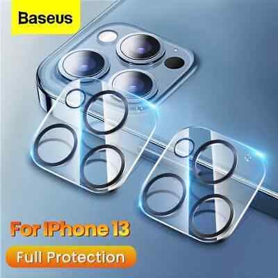 2Pack Baseus Camera Lens Protector Tempered Glass Cover For iPhone 13 Mini Pro
