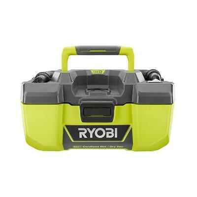 RYOBI WetDry Vacuum 18V 3 Gal- Project with Accessory Storage Tool Only