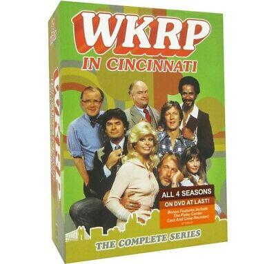 WKRP in Cincinnati The Complete Series 1-4 DVD 13-Disc Free Shipping NEW