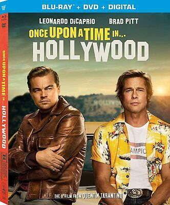 New Once Upon A Time In Hollywood Blu-ray  DVD - Digital