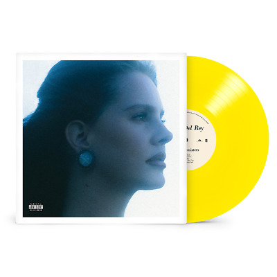 Lana Del Rey Blue Banisters Exclusive Limited Edition Yellow Colored Vinyl LP