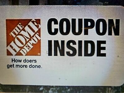 2xHome Depot Twenty USD Off w purchase of 200 Promotion Offer Two Discount