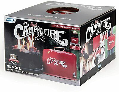 Camco 58035 Big Red Campfire Approved for RV Campgrounds Includes 10-Foot Pro-