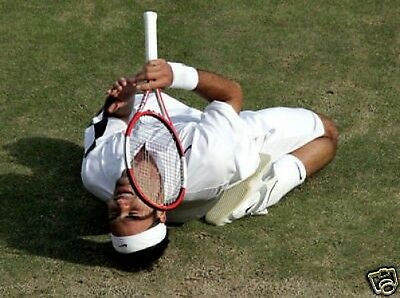 Roger Federer Wimbledon Winner 2004 10x8 Photo Tennis