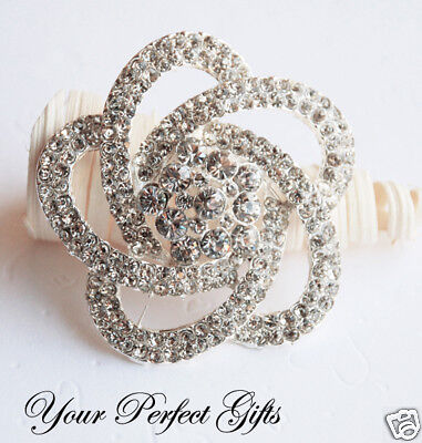 Rhinestone Crystal Brooch Pin Wedding Cake Decoration
