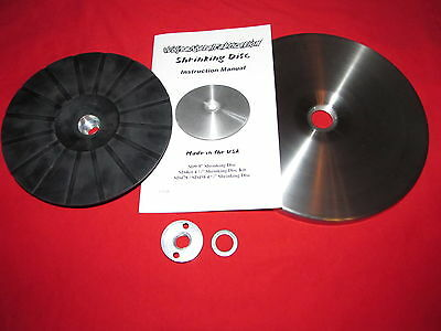 SD9Kit 9 Easy Shrink™ Shrinking Disc Kit w Backing Pad friction system