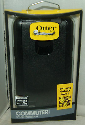 New Otterbox Commuter Series Case for Samsung Galaxy Note 4 IV Black