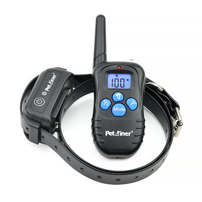 Petrainer Waterproof Rechargeable LCD Electric Remote Dog Training Shock Collar