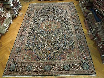 Hi Quality 10x16 Antique Persian Kashan Dabir Rug IRANs Better Rug