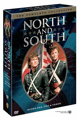 North and South The Complete TV Series Books 1 2 3 BoxDVD Set Collection NEW