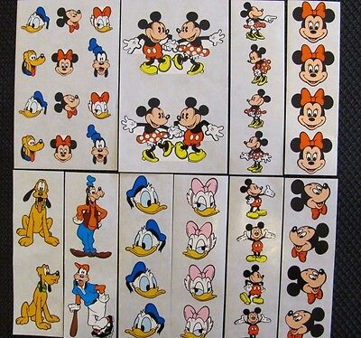 DISNEY Stickers made exclusively by MRS GROSSMANS - RARE - You Choose