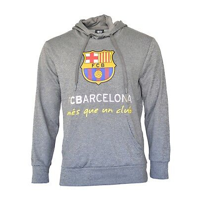 FC Barcelona Hoodie Track Jacket Zip Up Fleece Lionel Messi 10 Jersey Soccer