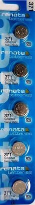 371 RENATA SR920SW D371 5 Piece Watch Battery Free Shipping Authorized Seller