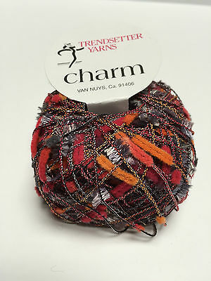 Trendsetter Yarns Charm 607 Smoke - Fire Yarn