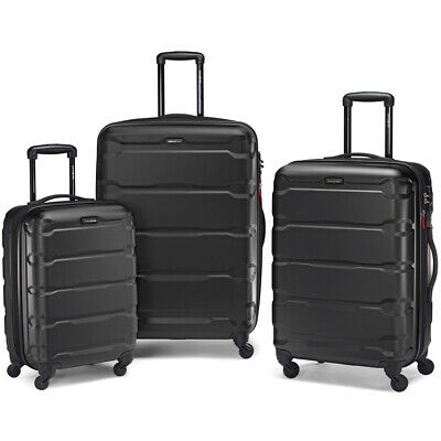 Samsonite Omni Hardside 3 Piece Nested Spinner Luggage Set 20 24 - 28 Inch