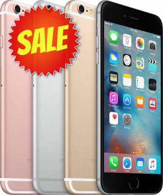 Apple iPhone 6S Factory Unlocked Verizon AT-T TMobile Sprint 16GB 64GB 128GB 6