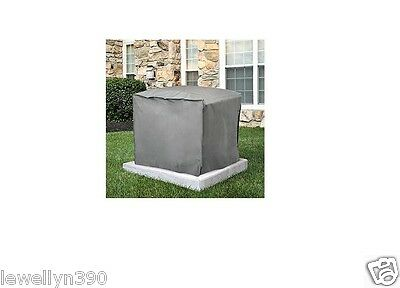 Central Air Conditioner Cover SQUARE 30 H x 34W x 34 D   Gray  NEW