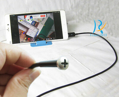 For Android Phone PC Waterproof Screw micro mini Color Video Tiny camera 3.5m