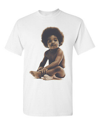 Hip Hop Shirt Rap 90s Ready Die Notorious BIG Smalls Biggie Baby Mens T Shirt
