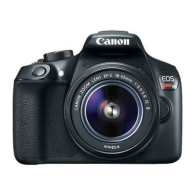 Canon EOS Rebel T6 Digital SLR Camera with EF-S 18-55mm f3-5-5-6 IS II Lens