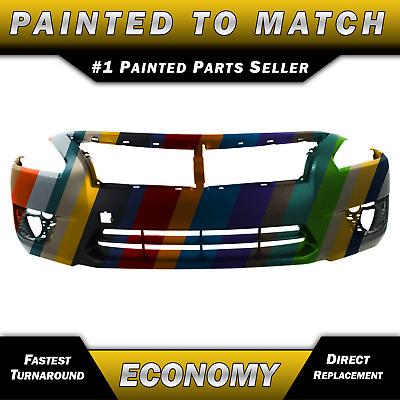 New Painted to Match- Front Bumper Cover Replacement for 2013-2015 Nissan Altima