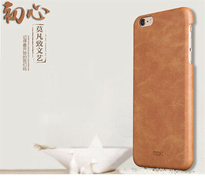 Luxury Genuine Leather Back Ultra-thin Case Cover For iPhone 6 6S 4-7  7 Plus
