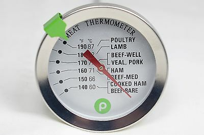 Publix Analog Stainless Steel Meat Thermometer  Ships from USA