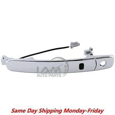 For Nissan  Infiniti Front Left Driver Outside Chrome Door Handle Smart Entry