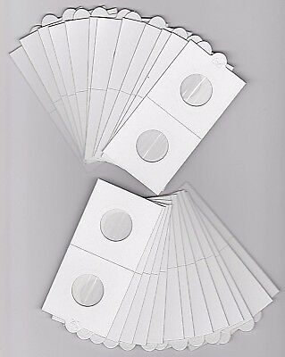LIGHTHOUSE 22-5mm SELF ADHESIVE 2x 2 COIN HOLDERS x 25 - SUIT 2 DOLLAR2 CENT