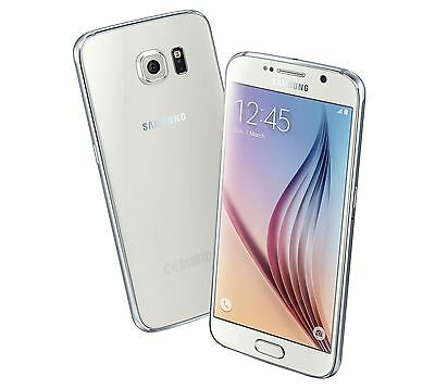 Samsung Galaxy S6 SM-G920A - 64GB - White Pearl AT-T GSM Unlocked Smartphone