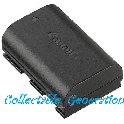 Genuine Canon LP-E6N Lithium-Ion Battery Pack For 7D Mark II 5D 60D 70D Camera