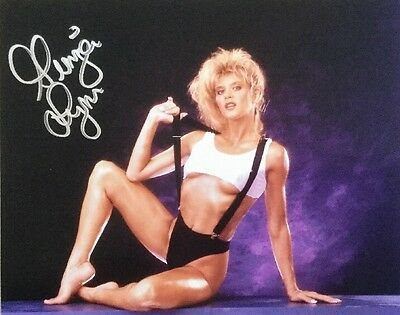 Ginger Lynn Autographed 8 x 10 signed Matte photo RARE