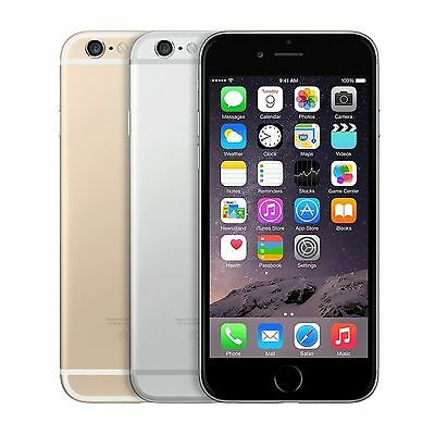 Apple iPhone 6 AT-T SmartPhone Gold Silver Space Gray 16GB 64GB 128GB