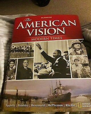The American Vision Modern Times by Joyce Appleby Hardcover Book English