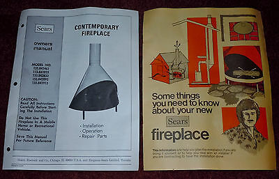 Sears Contemporary Preway Fireplace Owners Manual - Things to Know Manual