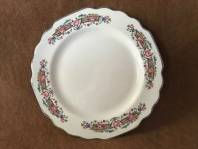 VINTAGE Floral Rim W-S- George White Lido Saucer Plate