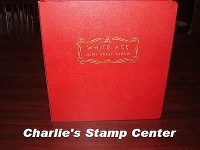HUGE Vintage Collection of 100 US full sheets stamps in album- 1 to 15c- MNHOG-